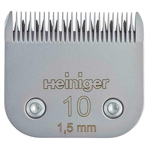 Eider Heiniger Saphir Scherkopf #10/1,5 mm für die Hundeschur - für Hunde, Katzen und Kleintiere - passend zu Heiniger Saphir, Andis, Aesculap FAV5, Moser, Oster, Wahl