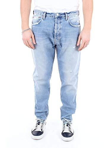 Haikure Luxury Fashion Uomo HEM03167JJEANSCHIARO Blu Cotone Jeans | Stagione Outlet