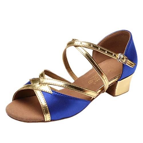 Sandalias de Vestir Niña Moda Zapatos Bebe Niña Verano Flores Grandes Zapatos de Princesa Chicas Zapatos de Baile Zapatos Princesa Niña Bautizo Cumpleaños Fiesta