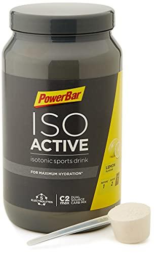 PowerBar Isoactive Lemon 1320g - Bevanda Sportiva Isotonica - 5 Elettroliti + C2MAX