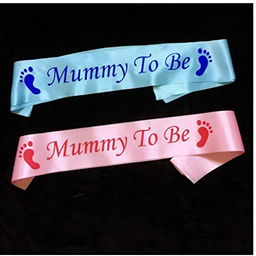 LAVALINK Cumpleaños Mamá Glitter Guillotina Huella Cintas De Raso De La Cintura Escapular De Fiesta Manera De La Decoración De Rosa Accesorios
