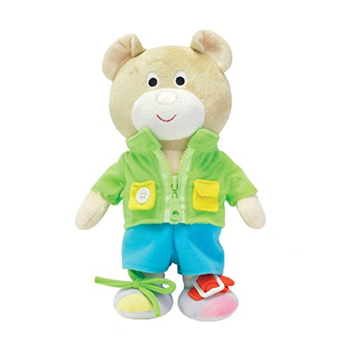 Aideal Dress Up Bear - Learn How To Zip Button Buckle Tie Lace,Toddler...