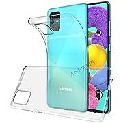 ANEWSIR Coque Compatible avec Samsung Galaxy A51 Shock-Absorption et Anti-Rayures, HD Clair pour Samsung Galaxy A51