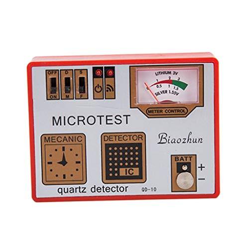 Generic 3 in 1 Quarzdetektor Batterietester Entmagnetisierungswerkzeuge für Uhrmacher