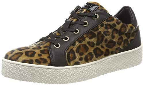 bugatti Damen 432525136959 Sneaker, Braun (Light Brown/Black 6210), 36 EU