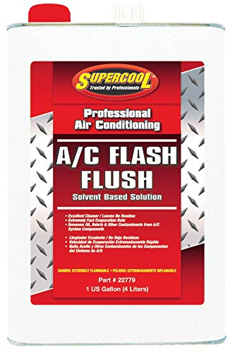 Supercool AC Flush, Solvent Based, 1 Gal.