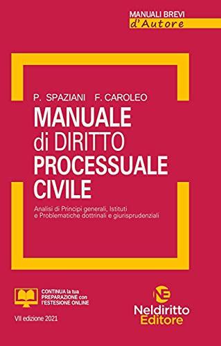 Manuale di diritto processuale civile. Nuova ediz.