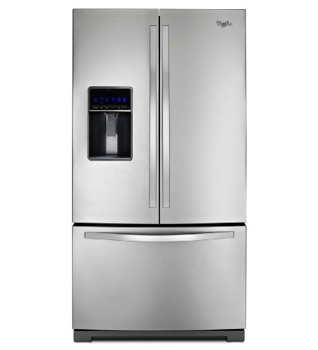 Whirlpool WRF736SDAM: 26 cu. ft. French Door Refrigerator with MicroEdge shelves