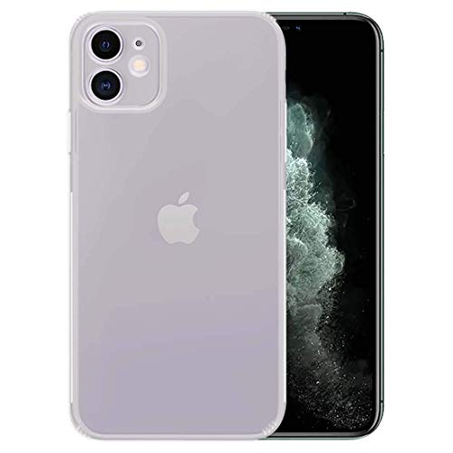 M7 iPhone 11 Case, [Dust-Proof] Crystal Clear Slim Fit Soft TPU [Drop Protection] Flexible Cover [Support Wireless Charging] Compatible for iPhone 11 6.1 inch (2019) (iPhone 11)