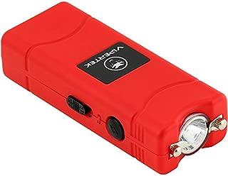VIPERTEK VTS-881-35 Billion Micro Stun Gun - Rechargeable with LED Flashlight, Red