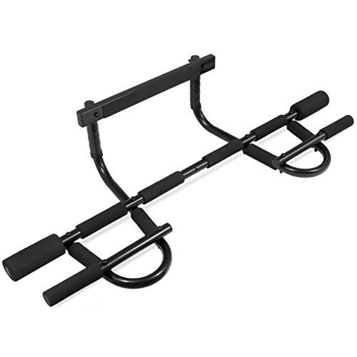ProsourceFit Multi-Grip Chin-Up/Pull-Up Bar, Heavy Duty Doorway...