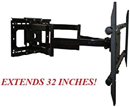 Sony Bravia KDL-55HX729 LED Internet TV Compatible Full Motion Articulating TV Wall Mount Bracket **Living Room/ Fireplace/ Game Room** Extends 32 Inches