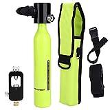 Sorand Sauerstoffflasche Tauchen, Mini Tauchflasche Scuba Diving Tauchausrüstung Tauchflaschen...