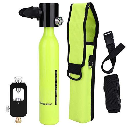 Tbest Bombola di Ossigeno Immersione, Accessorio per Attrezzatura da Sub Mini respiratore per bombole di Ossigeno