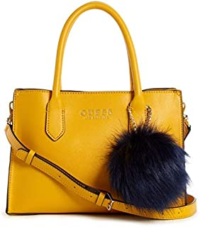 GUESS Womens Debora Satchel Bag