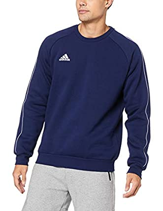 adidas Core18 Sw Top Sudadera, Hombre, Azul (Azul/Blanco), M