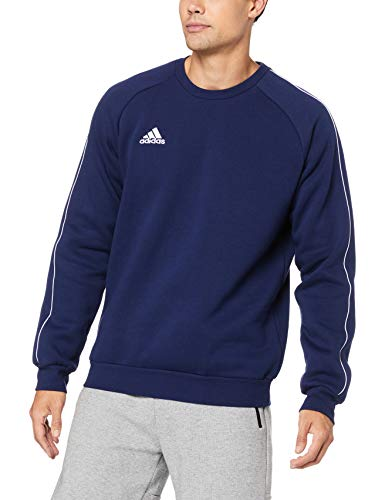 adidas Herren Core 18 Sweat Trainingstop, Dark Blue/White, M