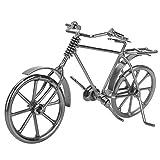 FTVOGUE Vintage Mini Bicicleta Jinete Modelo Dedo Bicicleta de Juguete Metal Bicicleta Bicicleta Decoración de Escritorio En Casa Adornos Regalos Souvenir