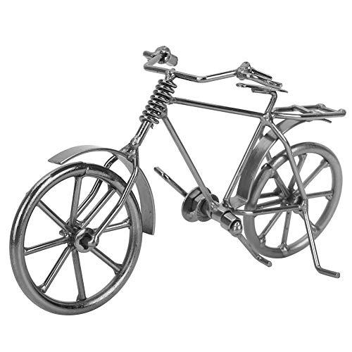 FTVOGUE Vintage Mini Bicicleta Jinete Modelo Dedo Bicicleta de Juguete Metal Bicicleta Bicicleta Decoración de...