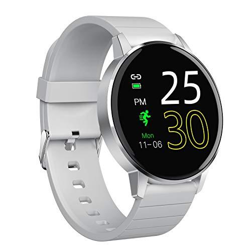 Smart Watch, Fitness-Tracker Mit Herzfrequenzmesser, Aktivitäts-Tracker Mit 1,3-Zoll-Touchscreen, Wasserdichte IP67-Schrittzähler-Smartwatch Mit Schlafmonitor, Schrittzähler Für Frauen Und Männer,C