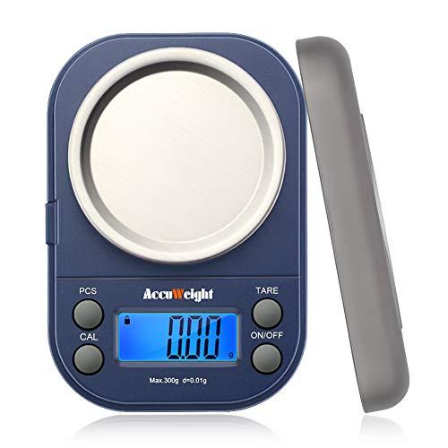 デジタル 計量器 携帯タイプはかり 電子はかり 精密デジタルはかり 0.01g単位 300g 業務用 電子天秤 計測AW255-2