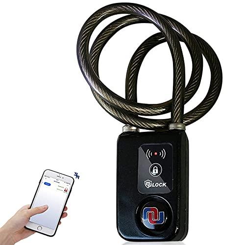 Nulock Keyless Bluetooth Bike/Motorcycle/Gate Lock...
