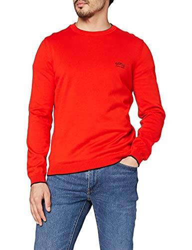 BOSS Riston_s21 10230519 01 Sweater, Medium Red618, M Homme