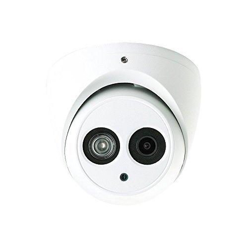 Dahua HAC-HDW1200EM 2 Megapixel HD-CVI Matrix IR Eyeball Dome Security Camera, 3.6mm Lens 164FT Night Vision Outdoor IP66 4-IN-1 UTC Switchable (AHD, TVI, CVI, CVBS) White 2MP