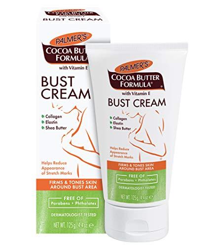 Palmer's Bust Cream al burro di cacao con vitamina E, 4,4 once (Confezione da 3)