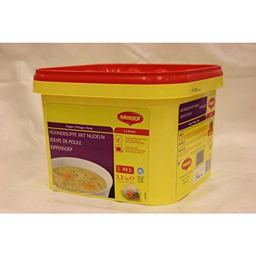 Maggi Kippensoep met Vermicelli 2200g Dose (Hühnersuppe mit Nudeln)