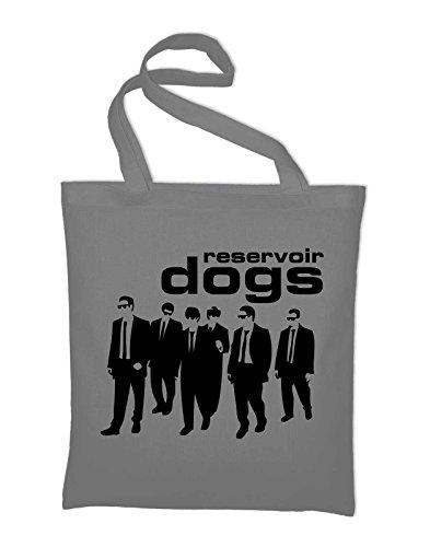 Styletex23 Reservoir Dogs Quentin Tarantino Jutebeutel Baumwolltasche, light grey