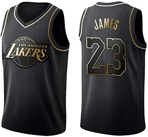NBA Lakers Bryant No.24 Camiseta De Baloncesto De Los Hombres, La Formación Transpirable Traje De Entrenamiento Clásico Uniforme Retro De La Máxima Material De Secado Rápido Chaleco No.23James Deporti