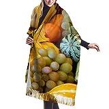 xiangli Sciarpa da donna in morbida lana di cashmere Grande coperta con scialle in Pashmine avvolgente
