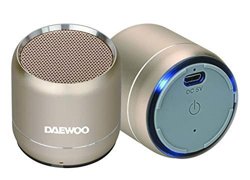 Altavoz Bluetooth DBT-212 Gold Duo