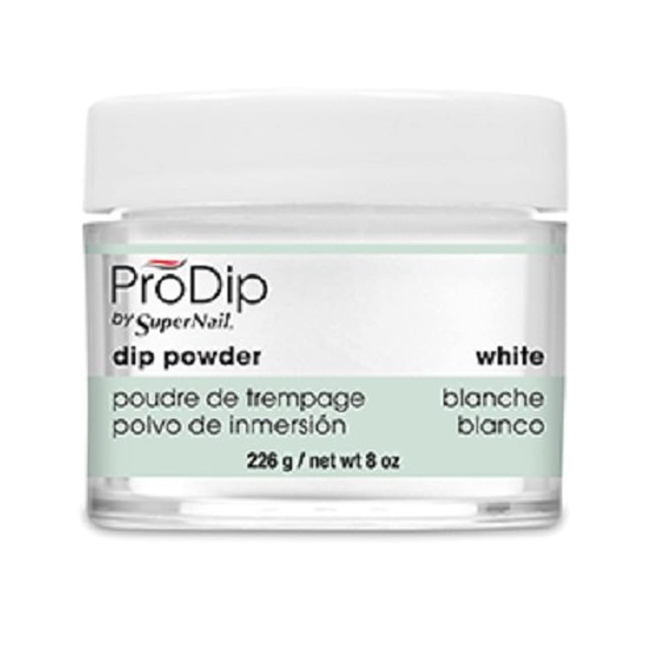 動く悪因子コンテストSuperNail - ProDip - Dip Powder - White - 226 g/8 oz