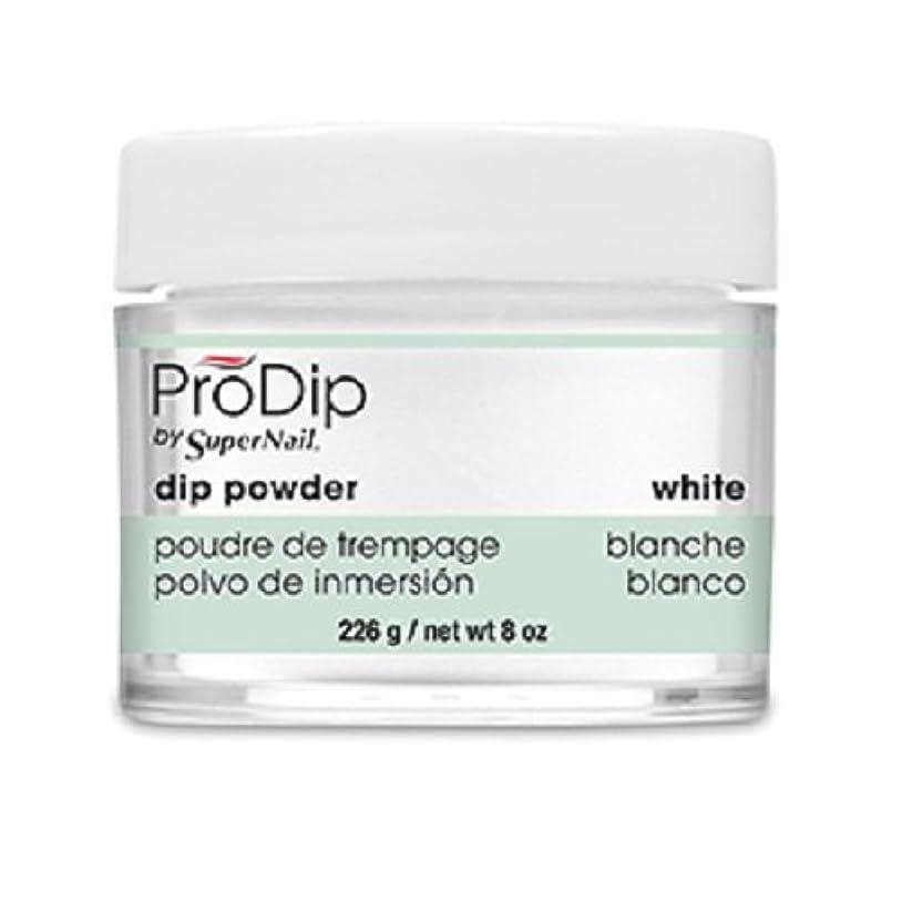 爆弾運河熱心なSuperNail - ProDip - Dip Powder - White - 226 g/8 oz