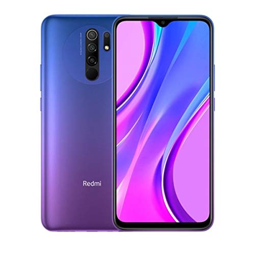 "Xiaomi Redmi 9 Smartphone - 3GB 32GB ai Quad CÁMARA 6.53"" Full HD + Display 5020mAh (typ) Púrpura [español versión], Sunset Purple"