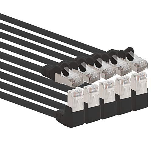 1aTTack.de - Cable de red de categoría 6, en ángulo de 90...