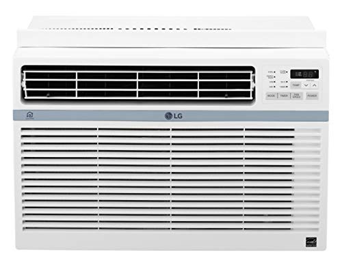 LG LW1217ERSM Energy Star 12,000 BTU 115V Window Mounted Wi-Fi Control Air Conditioner, White
