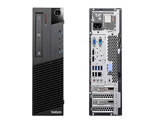 Lenovo ThinkCentre M93P SFF - Desktop PC (Intel Core I5-4ª Gen, 8GB de RAM, Disco 500GB HDD, Windows 10 Pro)(Generalüberholt)
