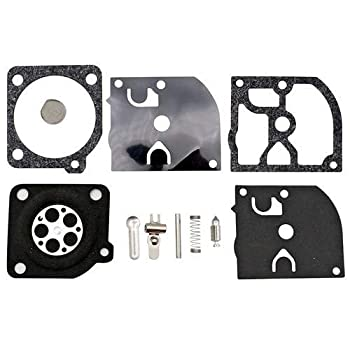 SecosAutoparts Chainsaw Carburetor Rebuild Kit Compatible with MCCULLOCH Craftsman MAC Replace Chainsaw Carb Rebuild Kit 3214 3200 3516 3816 3818