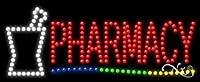 11x 27x 1インチPharmacyアニメーション点滅LEDウィンドウサイン