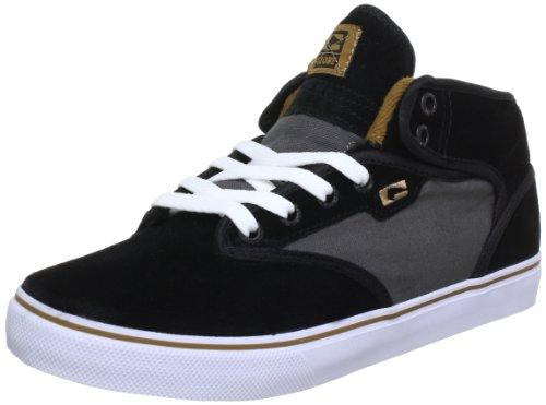 Globe Motley Mid GBMOTLEYM - Zapatillas de Cuero Unisex, Color Negro, Talla 44