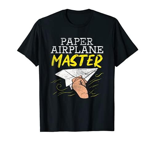 Avión de papel para niños / modelo de planeador Origami Camiseta