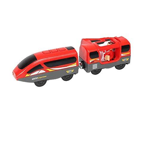 Decoración del hogar Tren magnético eléctrico para niños Locomotora de juguete Pista...