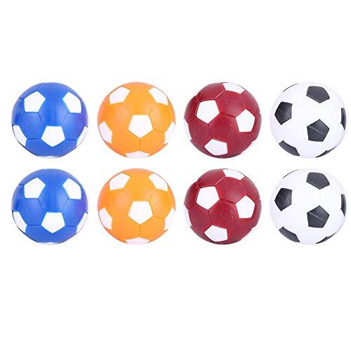 Dilwe Mini Bolas de Reemplazo de Futbolines Bola de Reemplazo de Balones de Futbolín de Mesa 36MM