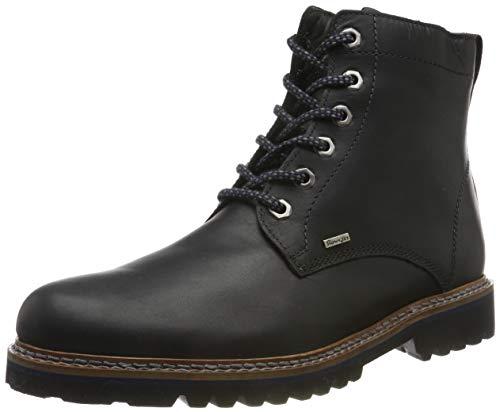 Sioux Herren Quendron-710-Tex-Lf Chukka Boots, Schwarz (Schwarz 000), 43 EU