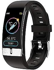 スマートウォッチ 腕時計 活動量計 萬歩計 IP68防水 最長連続7日間使用可能 畫面の明るさ調節 著信電話 iphone&Android対応 最高の贈り物 家族に欠かせない ファッション