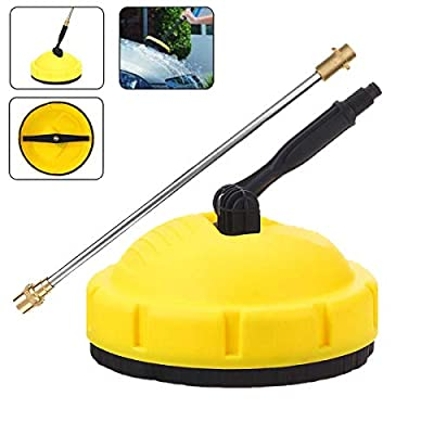 Beauneo High Pressure Washer Rotary Surface Cleaner Jet Cleaning Floor Brush for Karcher K Series K1-K7 by Beauneo