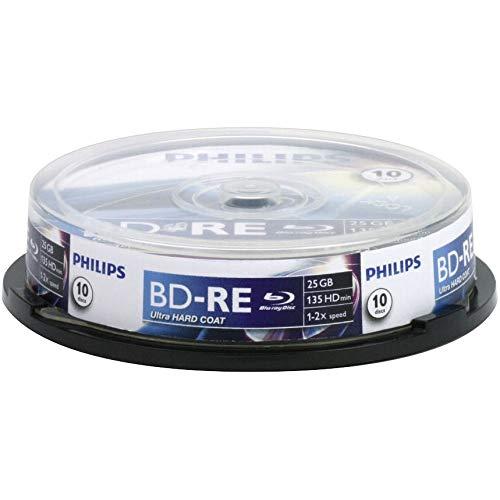 Philips BD-RE 25 GB 10er SP